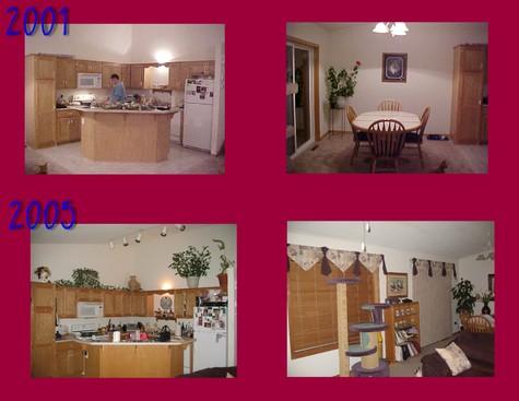 Kitchendining_thennow